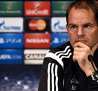 De Boer geeft opstelling Ajax nog niet prijs