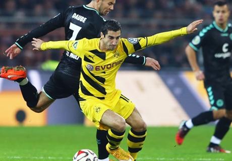 Dortmund, Mkhitaryan absent jusqu'à la trêve