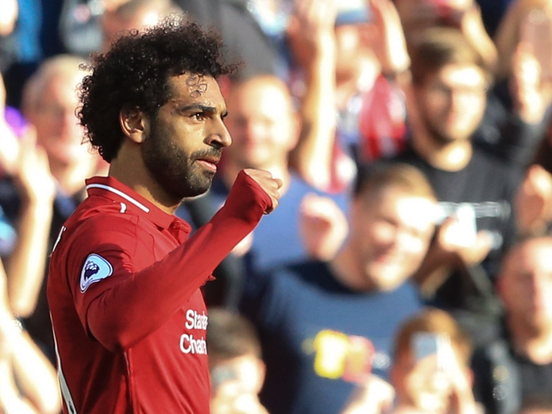 Mohamed Salah scoops Liverpool Goal of the Month award
