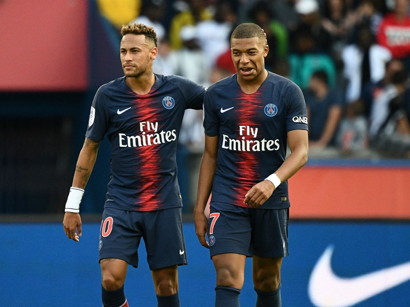 PSG refute reports they club could be forced to sell Neymar or Mbappe