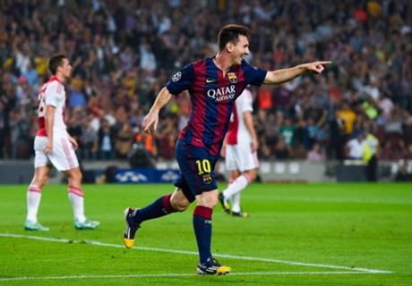 Messi conquers Spain and Europe