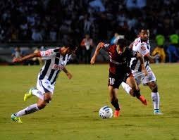 Partido entre Atlas vs Monterrey