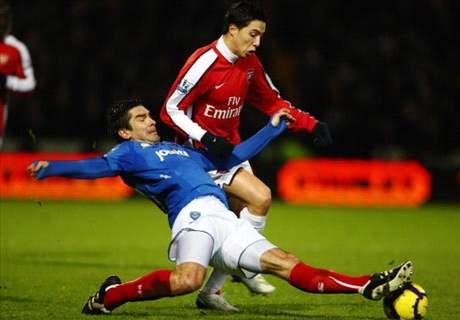 Selera Asing Arsenal & Portsmouth