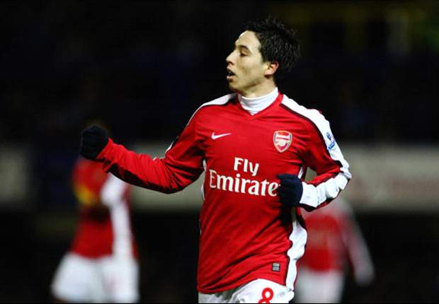 Marseille coach Didier Deschamps hints he'd like to sign Arsenal's Samir Nasri
