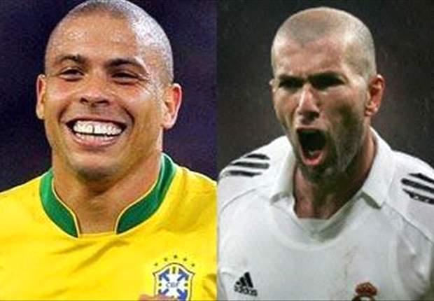 Zidane und Ronaldo spielen Wohltätigkeitsmatch in Brasilien