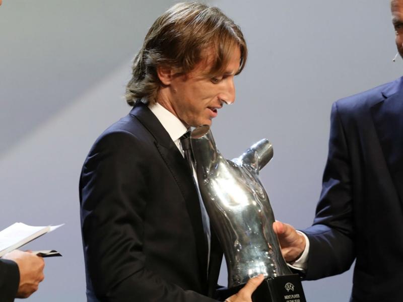 """Luka Modric : """"Je suis extrêmement heureux au Real Madrid"""""""