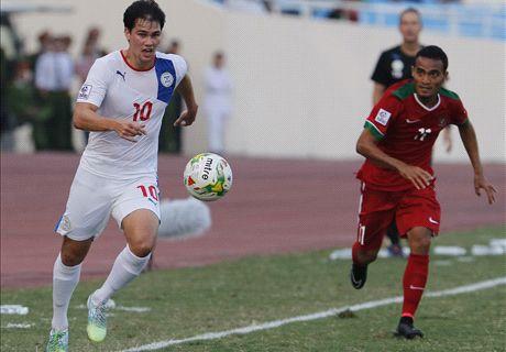 FT: Filipina 4-0 Indonesia