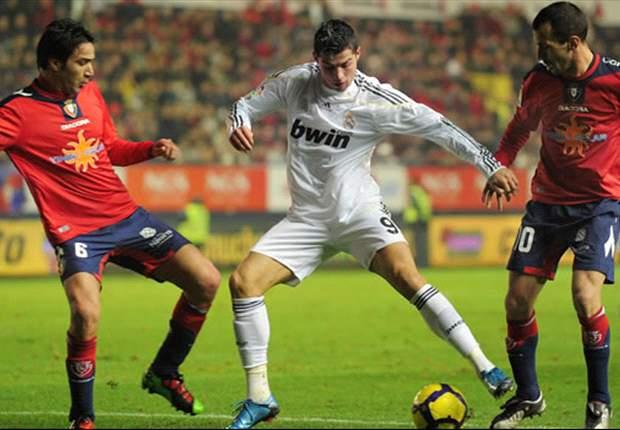 Osasuna vs Real Madrid: La liga se decide en el Reyno de Navarra
