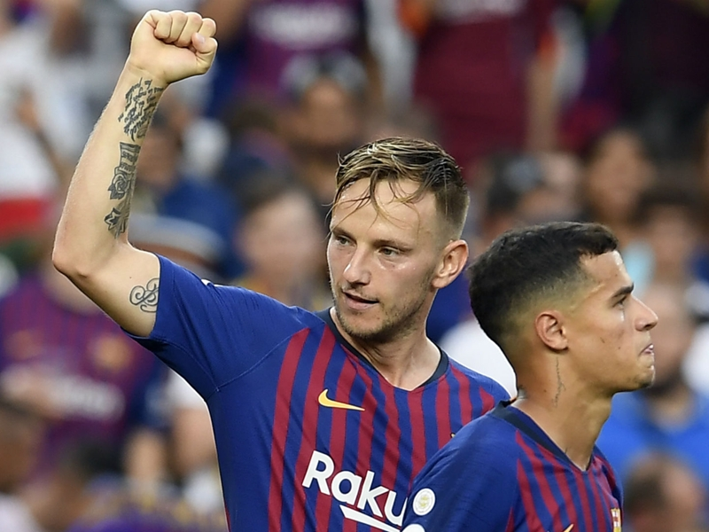 'Lucky' Rakitic never saw future away from Barcelona despite PSG link