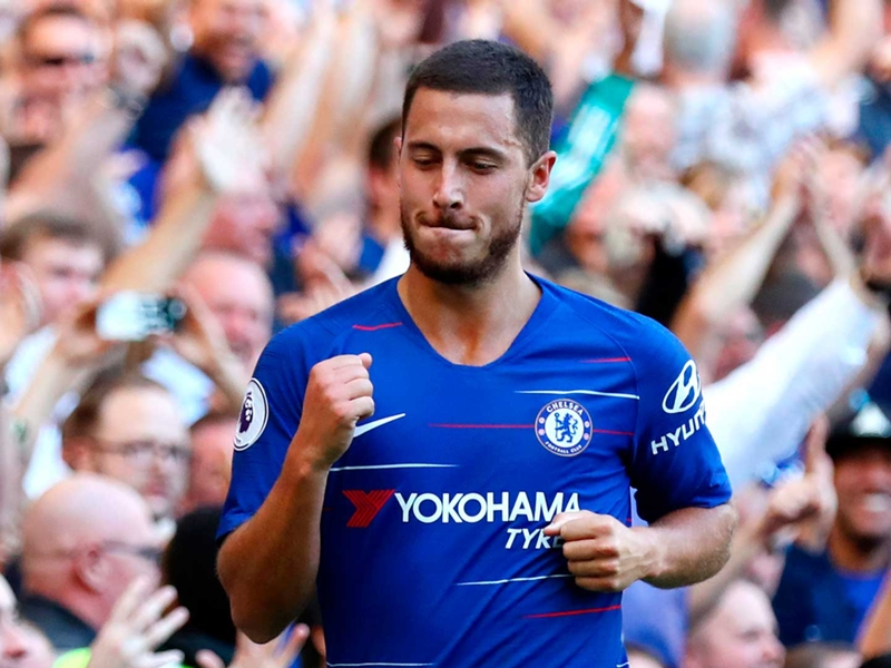 Hazard could score 40 goals a season... if he played at Man City or Liverpool – Pearce