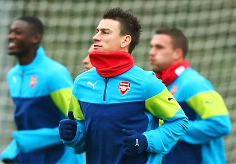 Koscielny gives Arsenal boost