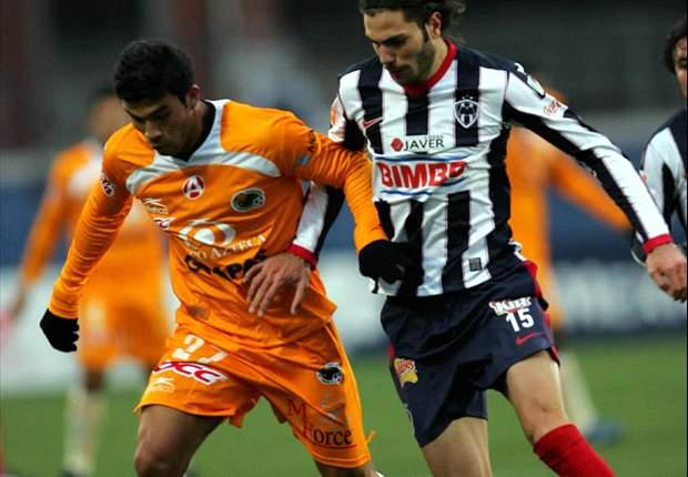 Basanta jugando para Monterrey