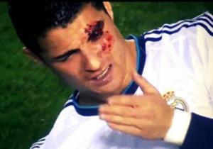 Incluso Cristiano Ronaldo ha mostrado su peor cara. Pudo perder su porte de modelo en un Levante-Real Madrid en 2012