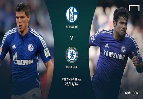 LIVE: Schalke 0-3 Chelsea