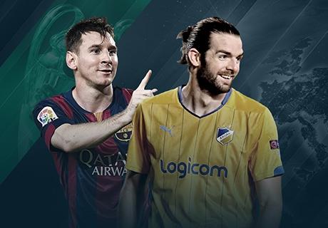 LIVE: APOEL 0-2 Barcelona