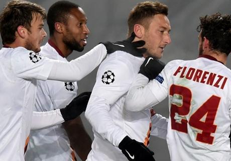 Last-gasp CSKA goal denies Roma