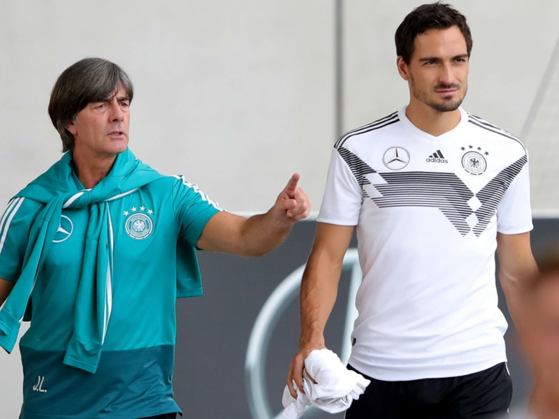 Germany's World Cup failure has helped Low's standing - Hummels