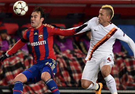 CSKA Moskwa & AS Roma Berbagi Angka
