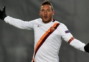 Sein Tor reichte nicht: Roms Altmeister Francesco Totti