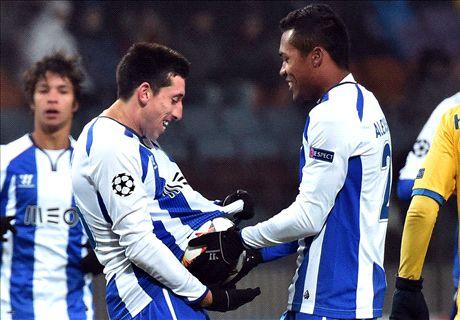 El Oporto se aseguró el liderato (0-3)