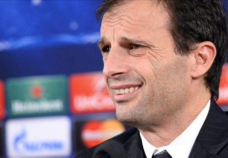 Juve aiming for top spot - Allegri