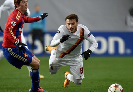 Résumé de match, CSKA Moscou-Roma (1-1)