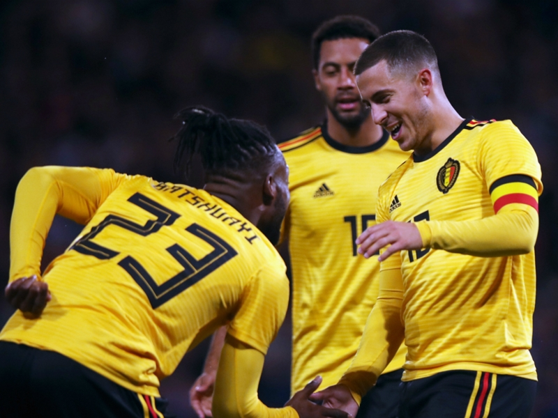 Scotland 0 Belgium 4: Hazard stars and Batshuayi scores twice in rout