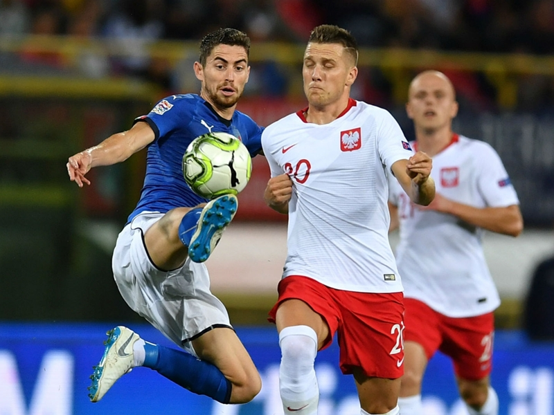 Italy 1 Poland 1: Jorginho on the spot to get Mancini up and running