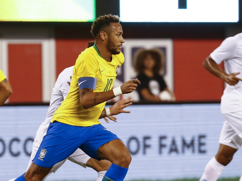 United States 0 Brazil 2: Neymar enjoys winning start as captain
