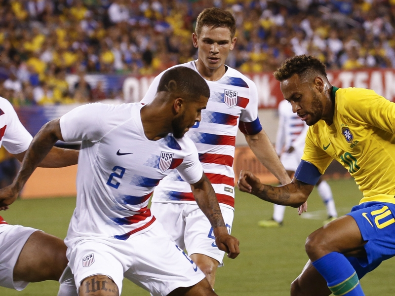 Brazil teaches USMNT youngsters a lesson in mismatch