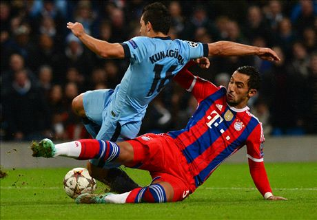 LIVE: Man City 1-2 Bayern Munich