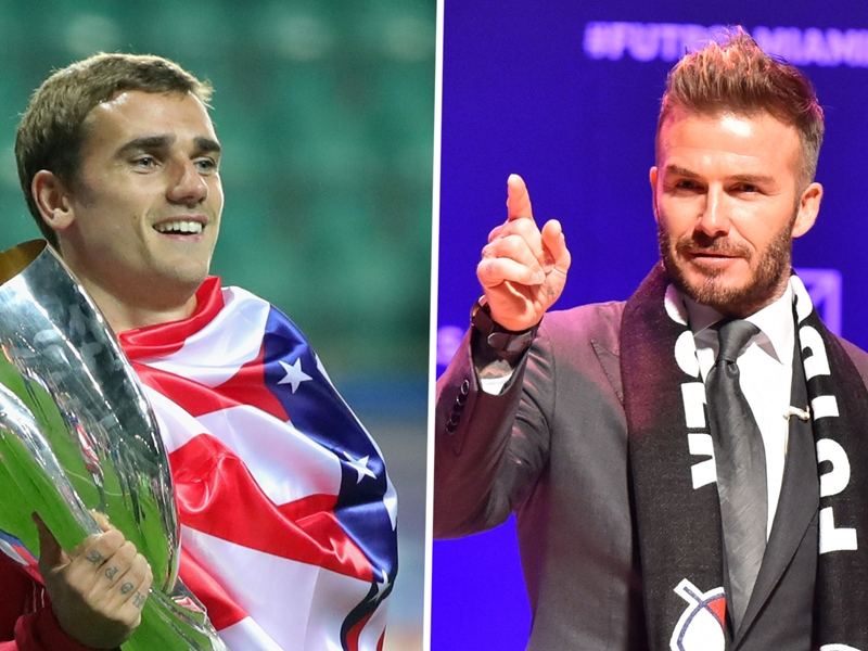 Griezmann: If Beckham wants me in Miami, I'll go!