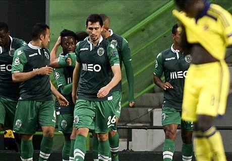 UCL: Sporting Lisboa 3-1 Maribor