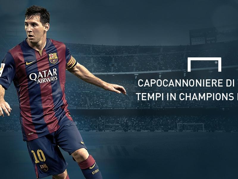 Ultime Notizie: Messi 'Re' di Champions, tripletta all'Apoel e miglior bomber di tutti i tempi