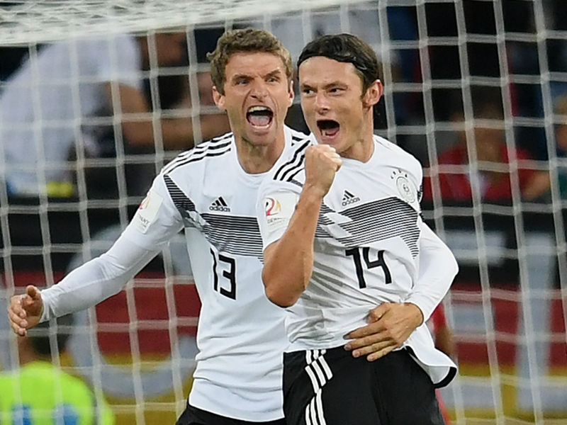 Germany 2 Peru 1: Debutant Schulz scores late to secure win