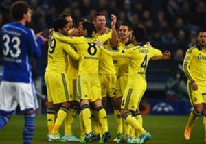 Schalke 0-5 Chelsea