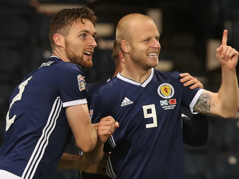 Scotland 2 Albania 0: Naismith inspires hope for McLeish
