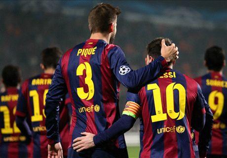 Koning Messi loodst Barça langs APOEL