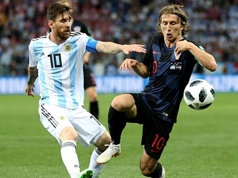 """Real Madrid, Luka Modric : """"Lionel Messi est l'un des meilleurs, mais je ne jouerais jamais avec lui"""""""