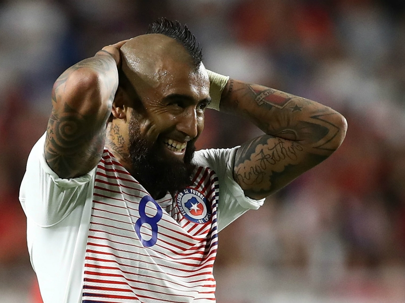 South Korea 0 Chile 0: Vidal, Valdes miss sitters in friendly draw