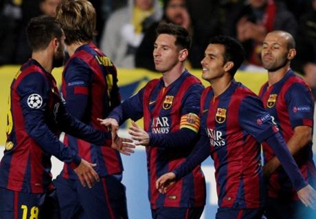 Player Ratings: APOEL 0-4 Barcelona