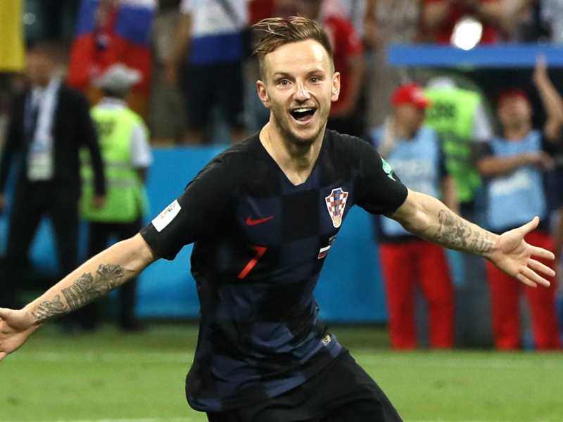 Rakitic wins 100th Croatia cap against Spain