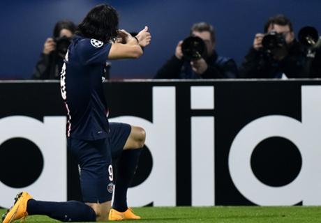 PSG 3-1 Ajax: Cavani, Zlatan score
