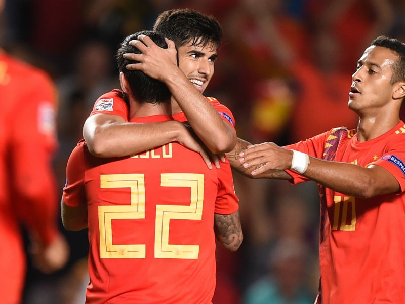 Spain 6 Croatia 0: Asensio leads destruction of World Cup finalists
