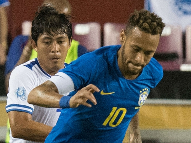 Brazil put five past El Salvador