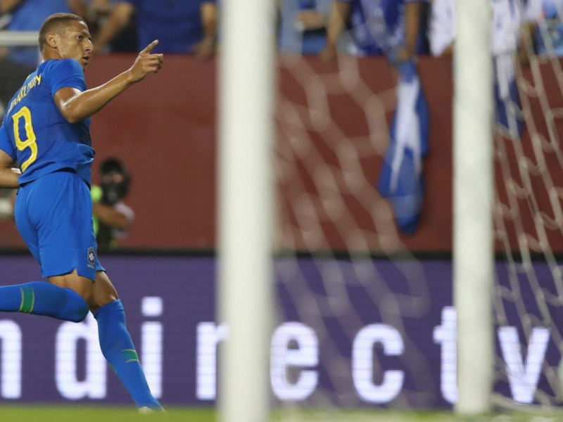 Brazil 5 El Salvador 0: Two-goal Richarlison leads rout as Neto ends eight-year wait