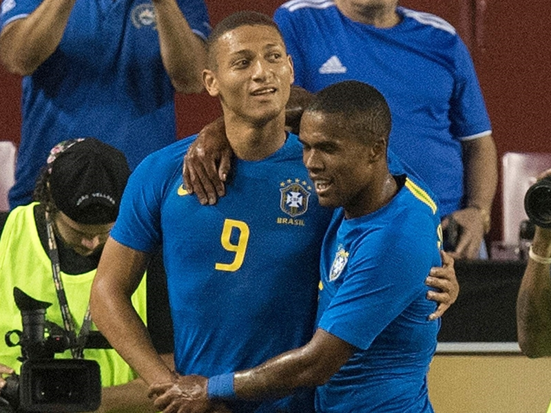 'I nearly quit football' - Everton star Richarlison reveals incredible journey to Brazil first team