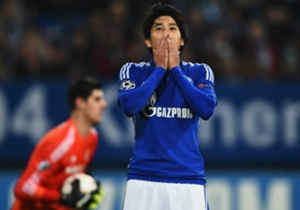 Der Schock steht Atsuto Uchida ins Gesicht geschrieben.