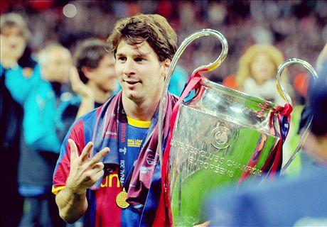 La belle histoire de Messi en Ligue des Champions