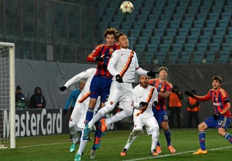 GALERÍA: CSKA 1-1 Roma